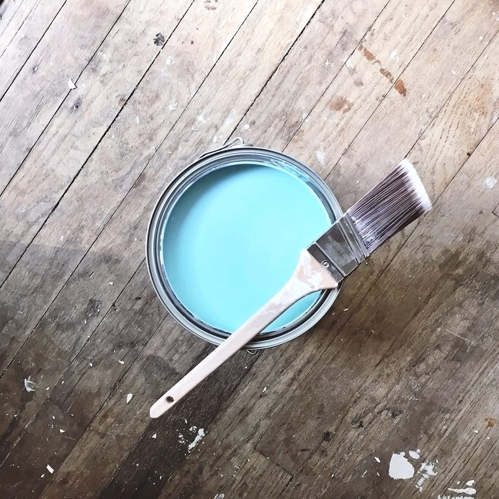 "Sherwin-Williams ""Spa"" Paint"