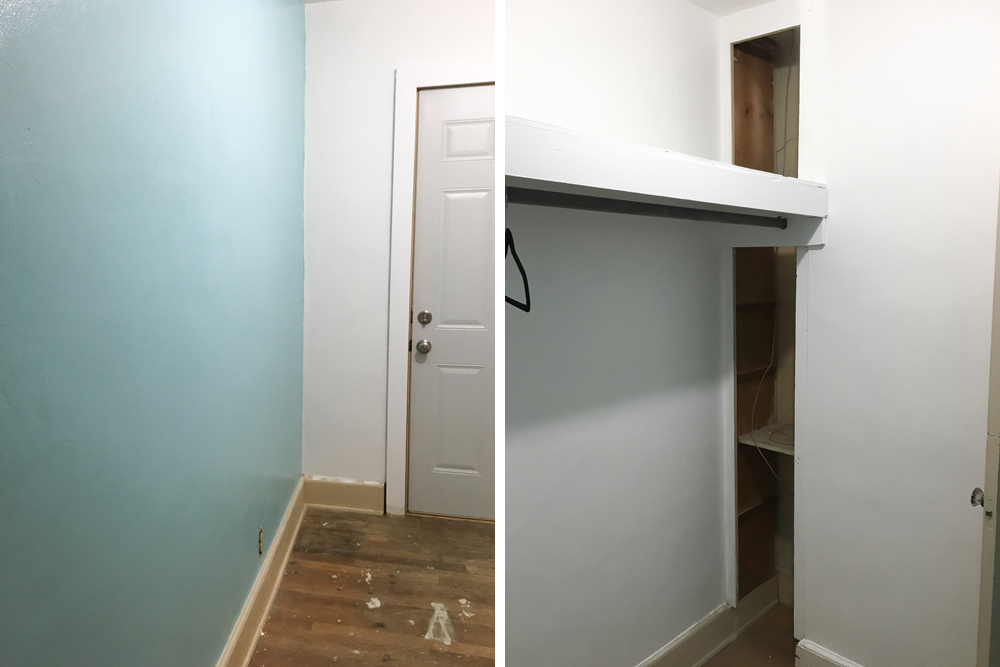 Walk-In Closet: Paint Progress