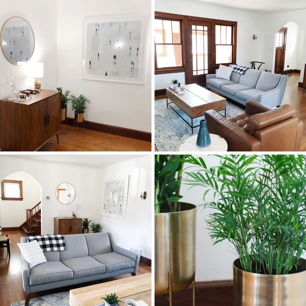 Curated Couple   Living Room Progress